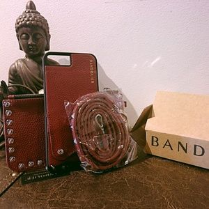 Bandolier iPhone wallet case and pouch